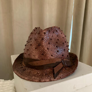 BRUNELLO CUCINELLI - Brunello Cucinelli ラフィアハット 帽子