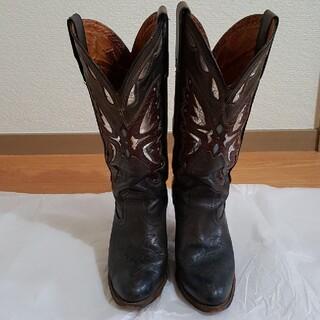 トニーラマ(Tony Lama)のミスカペジオ ウエスタンブーツ miss capezioバタフライ柄ブーツ(ブーツ)