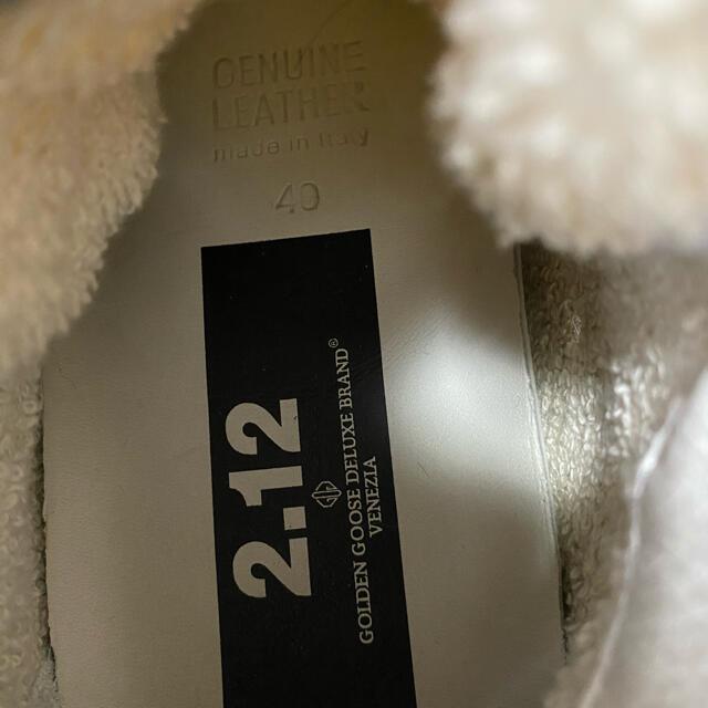 GOLDEN GOOSE(ゴールデングース)のもみ様専用になりますGOLDENGOOSE ハラコ ハイカットスニーカー 40 レディースの靴/シューズ(スニーカー)の商品写真