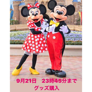 Disney - 9月21日 ディズニーシー グッズ購入