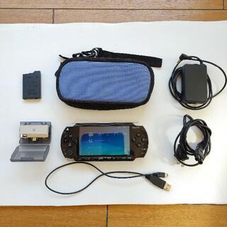 PlayStation Portable - PSP2000 美品 動作確認済み テレビチューナー セット ワンセグ ケース