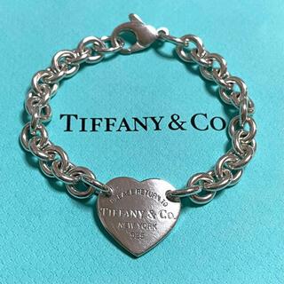 Tiffany & Co. - リターントゥティファニー ハートタグ ブレスレット スターリングシルバー925