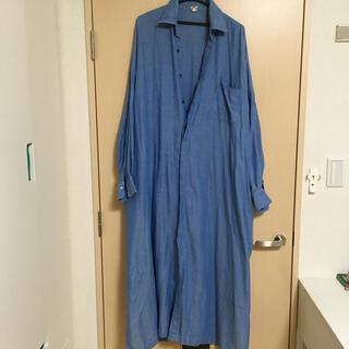 アパルトモンドゥーズィエムクラス(L'Appartement DEUXIEME CLASSE)のロングシャツ(ロングワンピース/マキシワンピース)