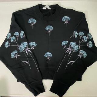 マメ(mame)のmame kurogouchi 16aw エンブロイダリー 刺繍 スウェット(トレーナー/スウェット)