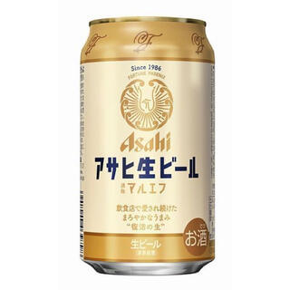 アサヒ(アサヒ)の ★Bell flower★様専用 アサヒ 生ビールマルエフ 350ml(ビール)