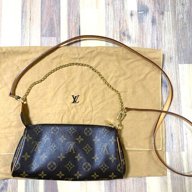 LOUIS VUITTON(ルイヴィトン)の【美品】ルイヴィトン LOUIS VUITTON エヴァ モノグラム レディースのバッグ(ショルダーバッグ)の商品写真