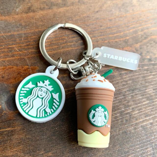 Starbucks Coffee(スターバックスコーヒー)のスターバックス☆フラペチーノ☆キーホルダー レディースのファッション小物(キーホルダー)の商品写真