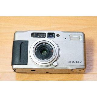 【実写・作動確認済み】CONTAX TVS データバック付き フィルムカメラ