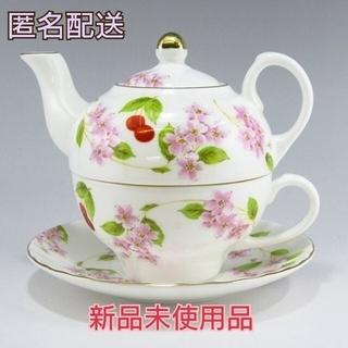 エインズレイ(Aynsley China)のエインズレイ   ティーフォーワン チェリーブロッサム ティーカップ ソーサー(食器)