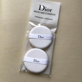 ディオール(Dior)のDior ディオール スキンケアクッション パフ2個(パフ・スポンジ)