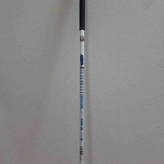 Graphite Design(グラファイトデザイン)の送料込 ツアーAD TourAD HD-6 1W フレックスS スポーツ/アウトドアのゴルフ(クラブ)の商品写真