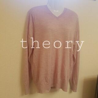 セオリー(theory)の【theory】パープル ピンク ニット(ニット/セーター)