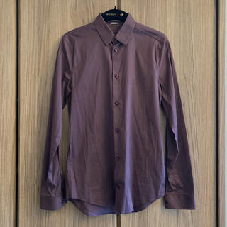 Balenciaga - BALENCIAGA ほぼ未使用 ワインレッド ドレスシャツ サイズ37