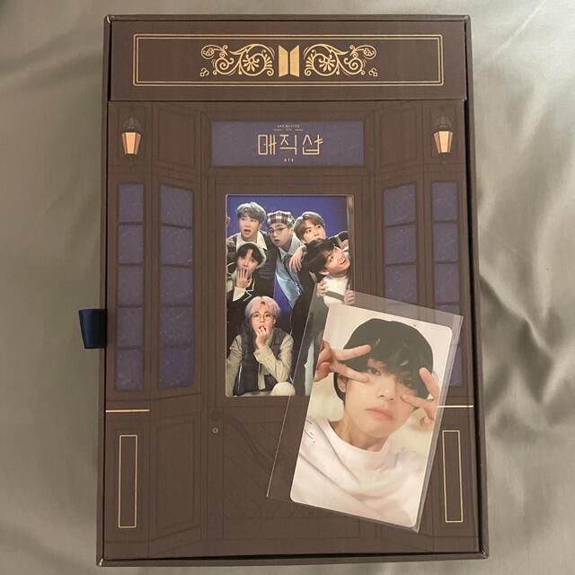 防弾少年団(BTS)(ボウダンショウネンダン)のBTS Magic shop DVD テテ トレカ付き エンタメ/ホビーのCD(K-POP/アジア)の商品写真