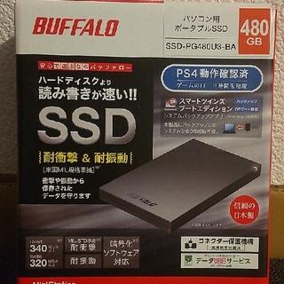 Buffalo - 外付けSSD 480GB