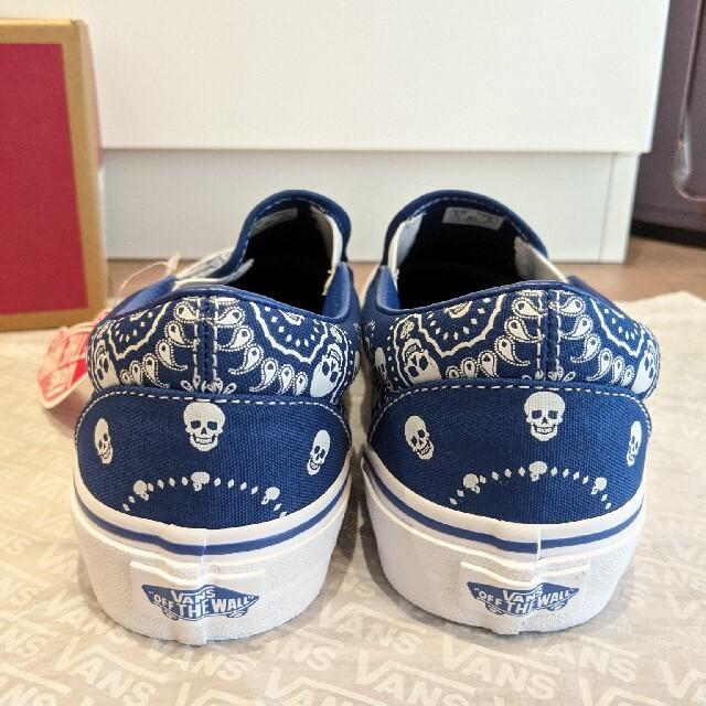 VANS(ヴァンズ)の新品 VANS US企画 スリッポン バンダナ ヴァンズ SLIP ON 未使用 レディースの靴/シューズ(スニーカー)の商品写真