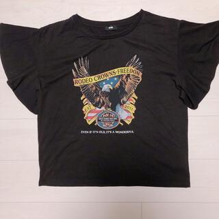 ロデオクラウンズワイドボウル(RODEO CROWNS WIDE BOWL)のロデオクラウンズ ワイドボウル フレアTシャツ(Tシャツ(半袖/袖なし))
