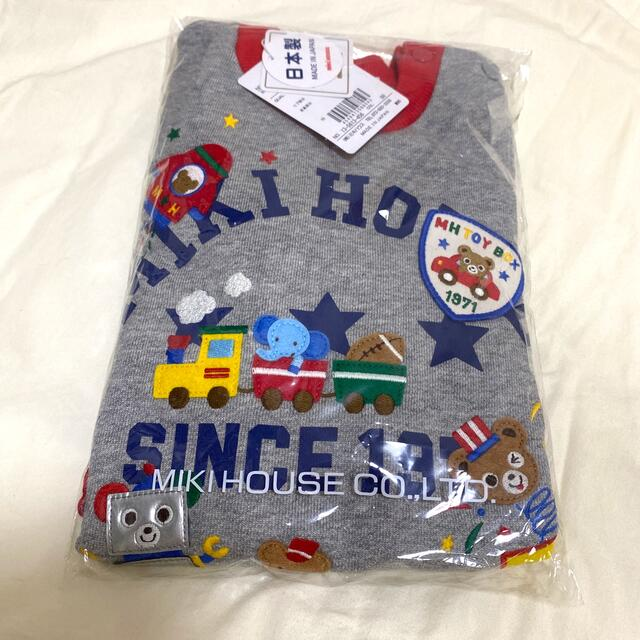 mikihouse(ミキハウス)のミキハウス トレーナー キッズ/ベビー/マタニティのキッズ服男の子用(90cm~)(Tシャツ/カットソー)の商品写真