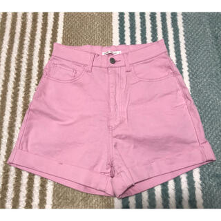 ウィゴー(WEGO)のピンク ショートパンツ Sサイズ(ショートパンツ)