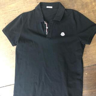MONCLER - moncler 正規 ポロシャツ 黒 サイズL