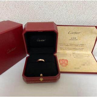 Cartier - カルティエ Cartier ミニラブリング ラブリング 49 9号