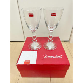 Baccarat - 未使用 Baccarat バカラ ベガ ワイングラス ペア