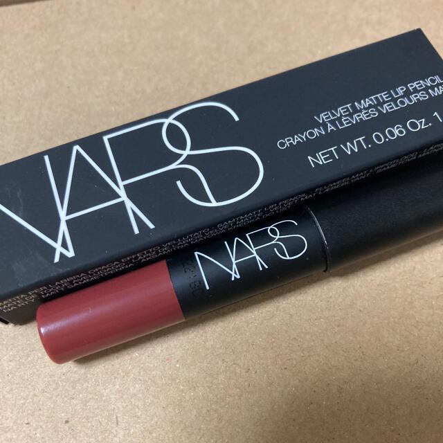 NARS(ナーズ)の【新品】Voce 特別号 NARS ベルベットマットリップリップ コスメ/美容のベースメイク/化粧品(口紅)の商品写真