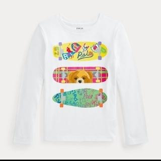 ポロラルフローレン(POLO RALPH LAUREN)のポロ ラルフローレン コットン 長袖Tシャツ100  新品(Tシャツ/カットソー)