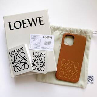 ロエベ(LOEWE)の【国内完売】LOEWE iPhone12 & 12pro ケース アナグラム(iPhoneケース)