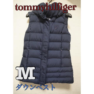 TOMMY HILFIGER - tommy hilfiger ダウンベスト ネイビー 紺色 Mサイズ