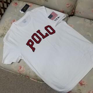 ラルフローレン(Ralph Lauren)の新品☆ラルフローレン Tシャツ POLO ワッペン  US M(Tシャツ/カットソー(半袖/袖なし))