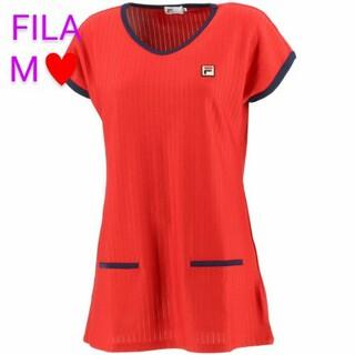 FILA - FILA フィラ レディーステニスウェア ゲームシャツ チュニック VL2322