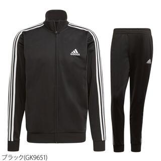adidas - adidasジャージ上下(ブラック)