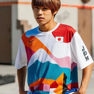 ナイキ(NIKE)のXXL NIKE SB PARRA CREW JERSEY JAPAN 堀米雄斗(Tシャツ/カットソー(半袖/袖なし))