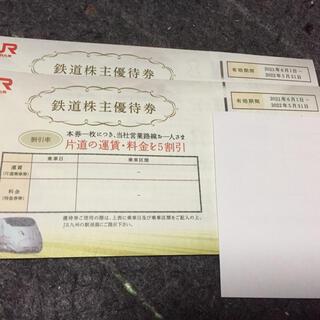 2枚JR九州株主優待5割引券