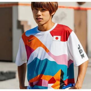 ナイキ(NIKE)のM NIKE SB PARRA CREW JERSEY JAPAN 堀米雄斗(Tシャツ/カットソー(半袖/袖なし))
