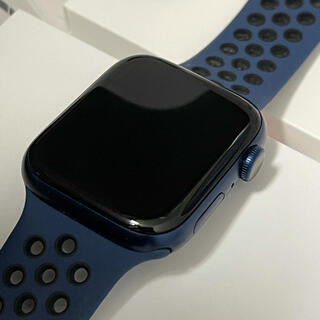 Apple Watch - Apple Watch Series 6 GPSモデル44mmブルーアルミニウム