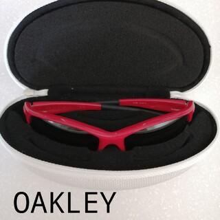 オークリー(Oakley)のOAKLEY オークリー サングラス スポーツサングラス  レッド ゴルフテニス(サングラス/メガネ)