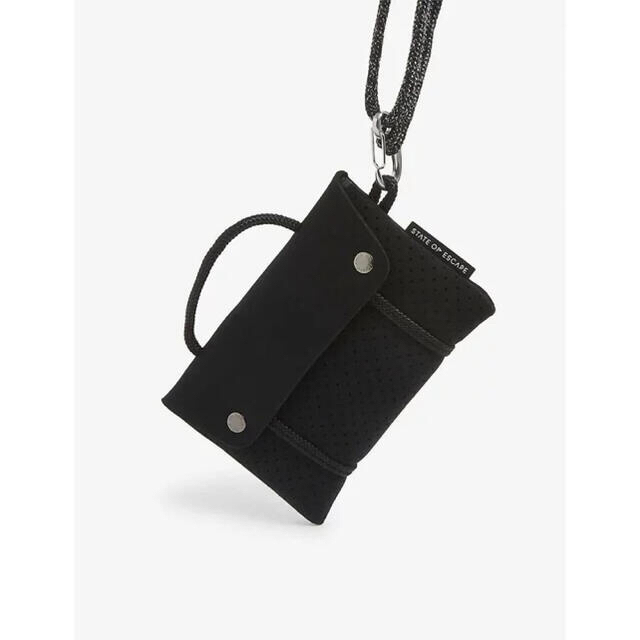 Ron Herman(ロンハーマン)のステートオブエスケープ コンパスベルトバッグ  BLACK レディースのバッグ(ショルダーバッグ)の商品写真