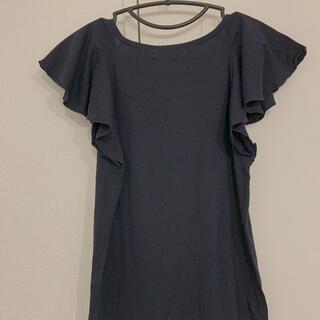 マウジー(moussy)のmoussy Tシャツ カットソー フレア(Tシャツ(半袖/袖なし))