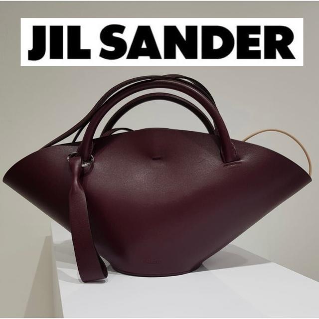 Jil Sander(ジルサンダー)の★新品未使用★JIL SANDER sombrero SM ダークパープル レディースのバッグ(ショルダーバッグ)の商品写真