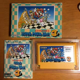 任天堂 - 美品 スーパーマリオ3 箱説あり