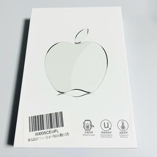《新品》りんご型 ワイヤレス 充電器(バッテリー/充電器)