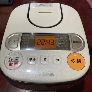アイリスオーヤマ - 炊飯器 アイリスオーヤマ RC-MA30-B 3号炊き