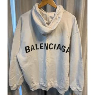 Balenciaga - バレンシアガ  パーカー 白