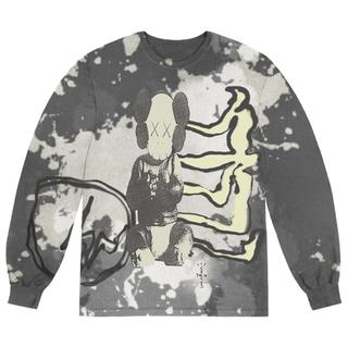カクタス(CACTUS)のカクタスジャック フラグメント カウズ コラボ ロンT(Tシャツ/カットソー(七分/長袖))