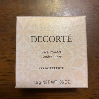 COSME DECORTE - コスメデコルテ フェイスパウダー 00 translucent 1.5g
