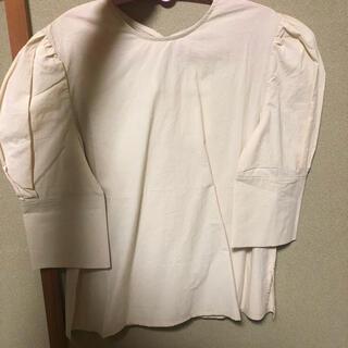 カスタネ(Kastane)のパフボリュームスリーブシャツtops(シャツ/ブラウス(長袖/七分))