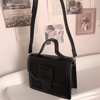 スナイデル(snidel)のmilky belt bag-black-(ショルダーバッグ)