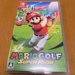 任天堂 - マリオゴルフ スーパーラッシュ Switch